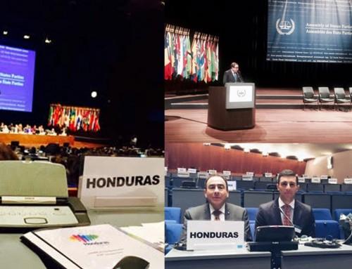 Delegación de Honduras Presente en el XV Periodo de Sesiones de la Asamblea de Estados Parte de la Corte Penal Internacional