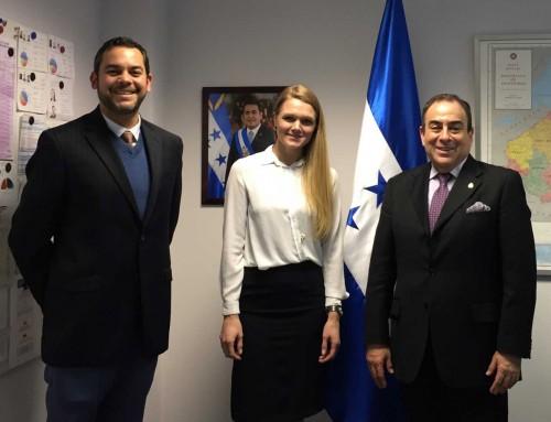 Honduras explora oportunidades comerciales con Islandia