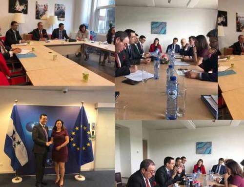Ante la Unión Europea, Honduras gestiona recursos de cooperación para generar más empleos