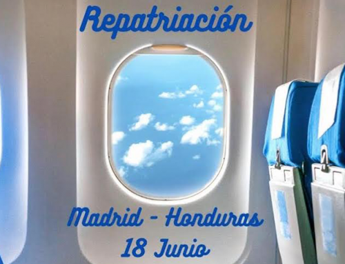 Vuelo de repatriación Madrid – Honduras 18 Junio